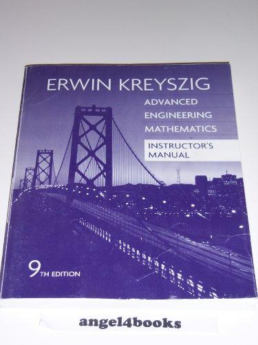 9780471726470: Advanced Engineering Mathematics, Instructor's Manual