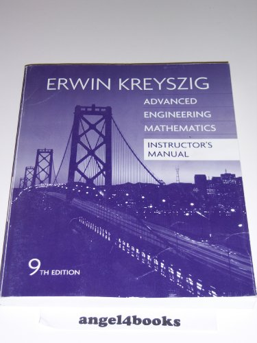 9780471726470: Advanced Engineering Mathematics, Instructor's Manual