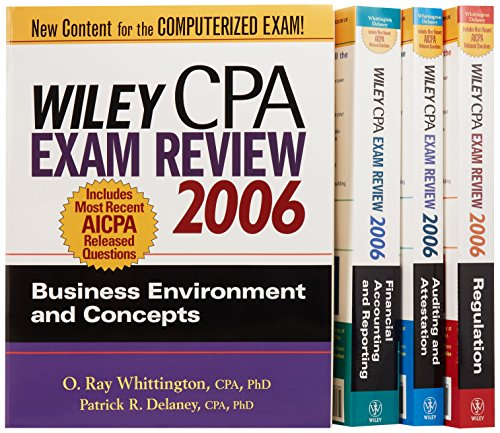 9780471726838: Wiley CPA Examination Review 2006 (Wiley Cpa Examination Review (4 Vol Set))