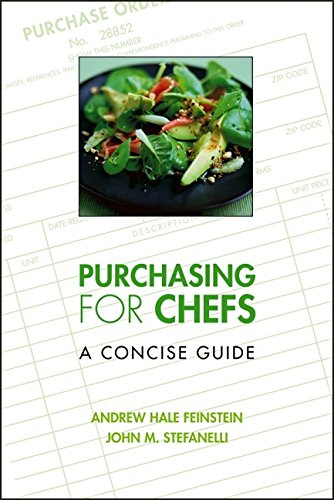 9780471728986: Purchasing for Chefs: A Concise Guide