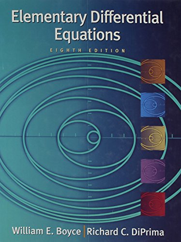 9780471729570: Elementary Differential Equations 8th Edition with Differential Equations Matlab 2nd Edition Set