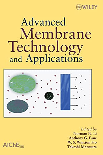 9780471731672: Advanced Membrane Technology and Applications