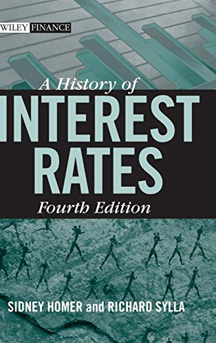 9780471732839: A History of Interest Rates, Fourth Edition (Wiley Finance)