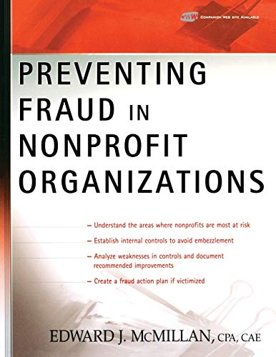 9780471733430: Preventing Fraud in Nonprofit Organizations