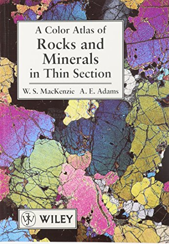 9780471734239: Color Atlas of Rocks and Minerals in Thin Section with Student Survey Set