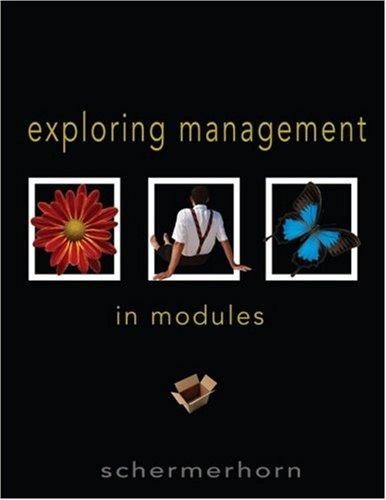 9780471734604: Exploring Management: In Modules