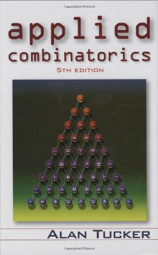 9780471735076: Applied Combinatorics