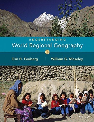 9780471735175: Understanding World Regional Geography
