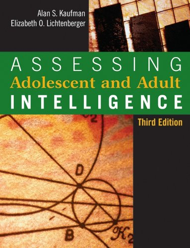9780471735533: Assessing Adolescent and Adult Intelligence, Third Edition