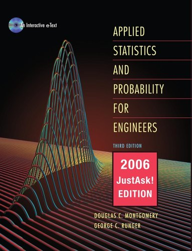 9780471735564: Applied Statistics and Probability for Engineers