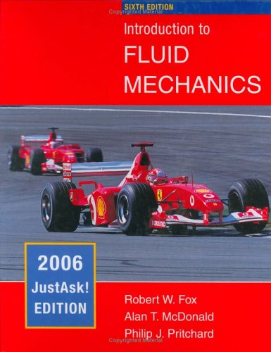 9780471735588: Introduction to Fluid Mechanics: JustAsk! Edition