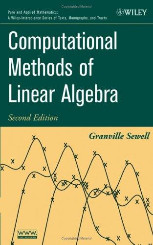 9780471735793: Computational Methods of Linear Algebra