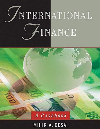 9780471737681: International Finance: A Casebook