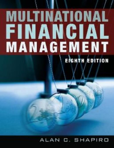 9780471737698: Multinational Financial Management