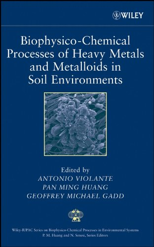 9780471737780: Biophysico-Chemical Processes of Heavy Metals and Metalloids in Soil Environments (Wiley Series Sponsored by IUPAC in Biophysico-Chemical Processes in Environmental Systems)