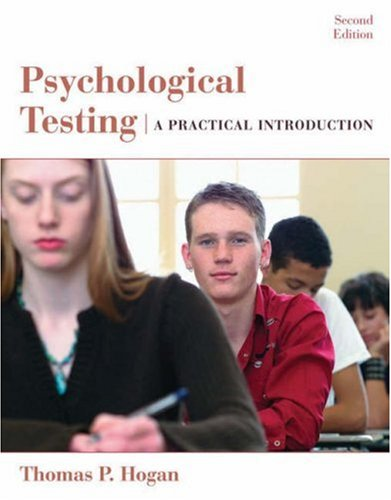 9780471738077: Psychological Testing: A Practical Introduction