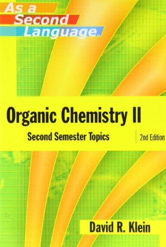 9780471738084: Organic Chemistry II as a Second Language: Second Semester Topics