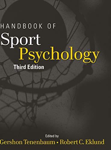 9780471738114: Handbook of Sport Psychology