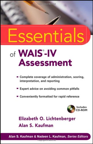 9780471738466: Essentials of WAIS-IV Assessment (Essentials of Psychological Assessment)