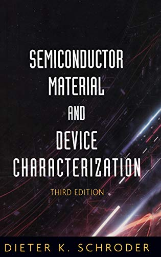 9780471739067: Semiconductor Material and Device Characterization