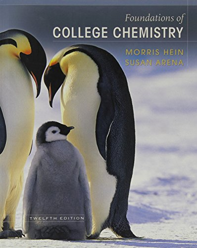 9780471741534: Foundations of College Chemistry
