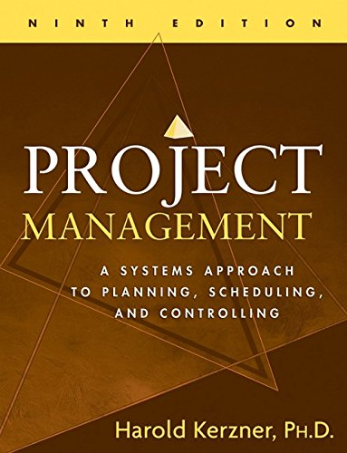 9780471741879: Project Management: A Systems Approach to Planning, Scheduling, and Controlling