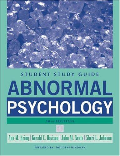 9780471742975: Abnormal Psychology