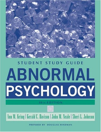 9780471742975: Abnormal Psychology, Study Guide