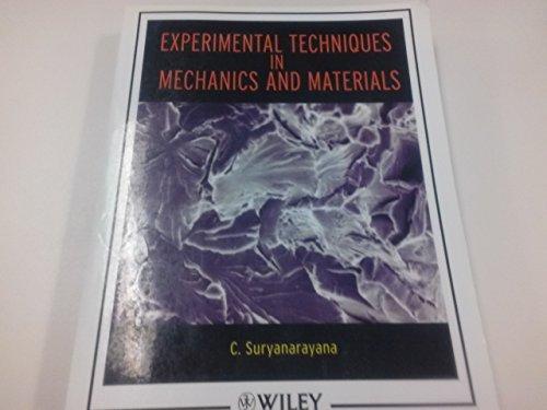 9780471747062: Experimental Techniques in Mechanics and Materials