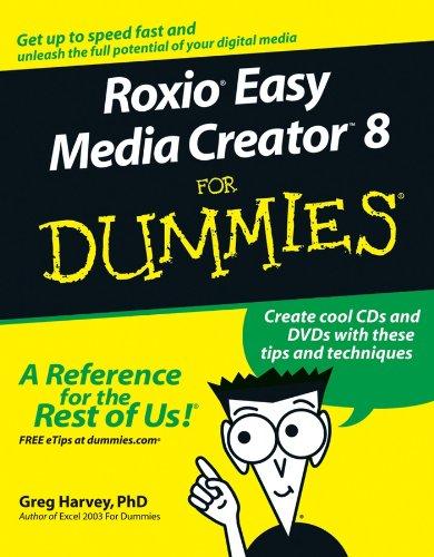 9780471747406: Roxio Easy Media Creator 8 For Dummies