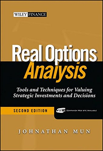9780471747482: Real Options Analysis: Tools And Techniques for Valuing Strategic Investments And Decisions