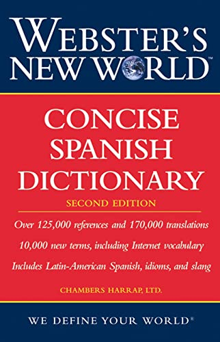 9780471748366: Webster's New World Concise Spanish Dictionary