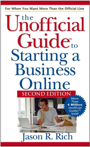 9780471748380: Unofficial Guide to Starting a Business Online