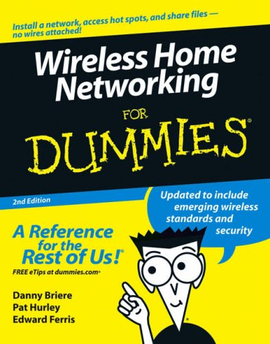 9780471749400: Wireless Home Networking For Dummies