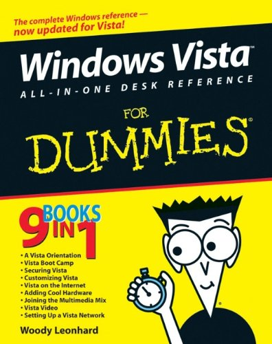 9780471749417: Windows Vista All-in-One Desk Reference For Dummies