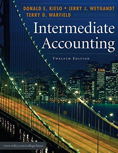 9780471749554: Intermediate Accounting