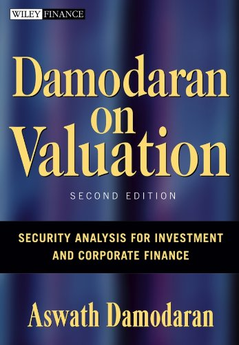 9780471751212: Damodaran on Valuation: Security Analysis for Investment and Corporate Finance