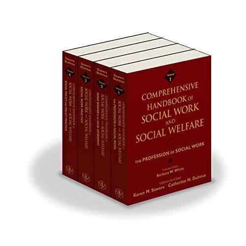 9780471752226: Comprehensive Handbook of Social Work and Social Welfare, , 4 Volume Set