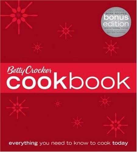 9780471753087: Betty Crocker Cookbook (Holiday Bonus Edition)
