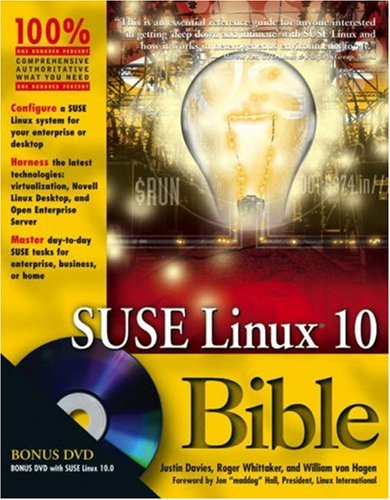 9780471754886: SUSE Linux 10 Bible