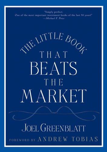 9780471755234: Little Book That Beats the Market Custom, The [Gebundene Ausgabe] by Greenbla...