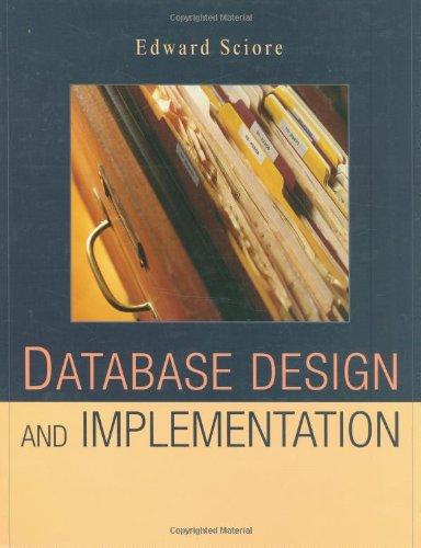9780471757160: Database Design and Implementation