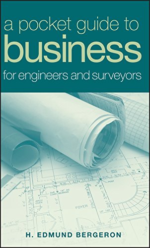 9780471758495: A Pocket Guide to Business for Engineers and Surveyors