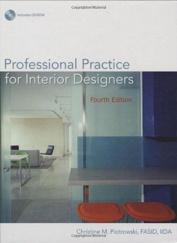 9780471760863: Professional Practice for Interior Designers