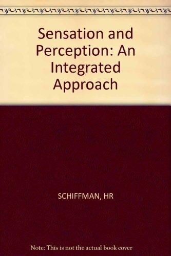 9780471760917: Sensation and Perception: An Integrated Approach