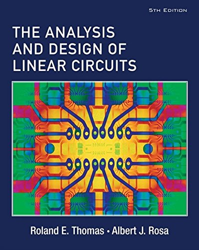 9780471760955: The Analysis and Design of Linear Circuits