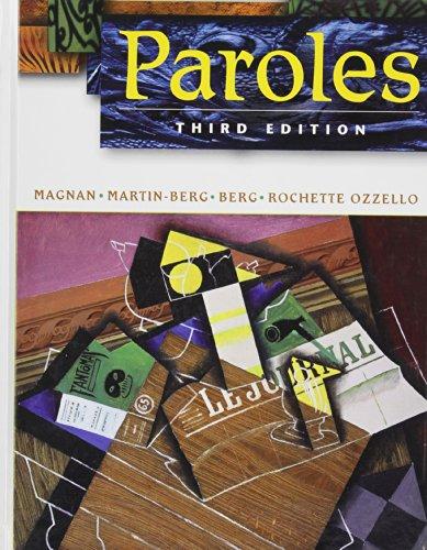 9780471761341: Paroles: WITH Activties Manual