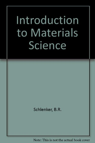 9780471761709: Introduction to Materials Science