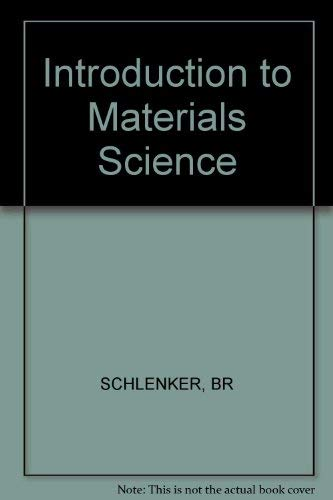 9780471761778: Introduction to Materials Science