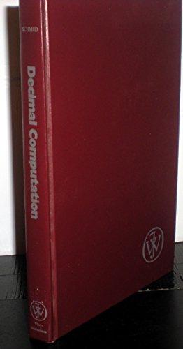 Decimal Computation: Herman Schmid
